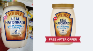 Free Heinz Mayonnaise at Walmart and Lots of Other Stores – Just Use Your Phone!
