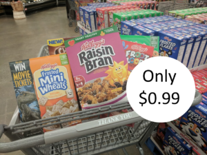 Kelllogg's Cereal Only $0.99 at Kroger with 5X Digital Coupon – Friday & Saturday Only + Earn FREE Festive Socks!