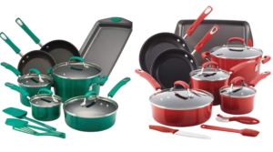 Rachael Ray Brights 14 pc. Cookware Set Only $53 (Regular $199.99)