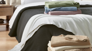 Ralph Lauren 100% Cotton Blankets Only $24 (Regular up to $120) – All Sizes!