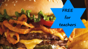 Calling All Teachers – Free Tavern Double Burger and Bottomless Steak Fries at Red Robin on June 5th!