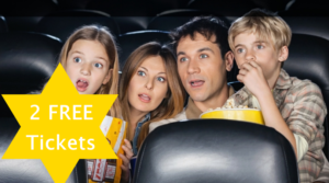 Two FREE AMC Theater Movie Tickets!