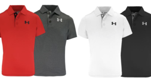 Under Armour Boys' Match Play Polos Only $14 (Regular $30)