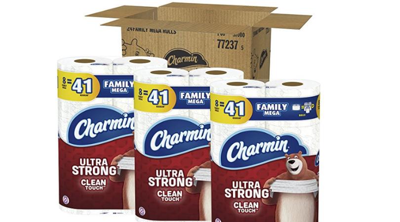 Charmin Ultra Strong Toilet Paper 24 Family Mega Rolls As