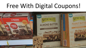 Free Boxes of Nature Valley Bars & Fiber One Brownie Bites with Publix Digital Coupons!