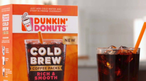 Free Dunkin Donuts Cold Brew Sample Pack!
