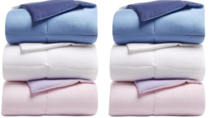 Martha Stewart Reversible Down Alternative Comforter Only $20 (Regular up to $80) – All Sizes
