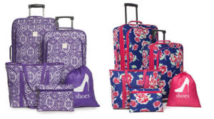 New Directions 5 Piece Luggage Sets Only $43 Shipped (Regular $180)!