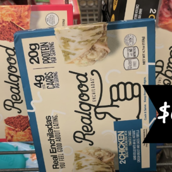 Realgood Foods Low Carb Enchiladas Only 0 99 At Kroger