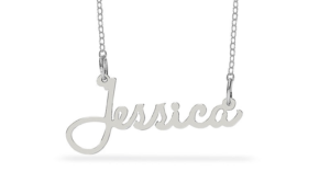 Zales Personalized Script Name Necklace in Sterling Silver Only $19.99 (Regular $99)!