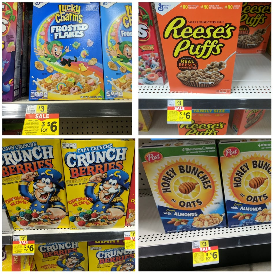 3 Boxes Of General Mills Cereal Only $5 + Possible Free