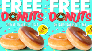Free Donuts at Target or Walmart – Today Only (up to $3)!