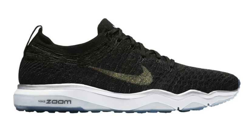 fb74fa85670 Nike Women s Air Zoom Fearless Flyknit Metallic Training Shoes Only  62.98  Shipped (Regular  139.99)
