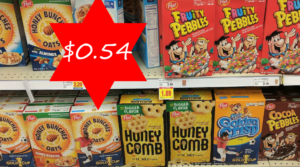 Post Cereals Only $0.74 at Kroger Friday & Saturday Only – Just Use Your Phone!