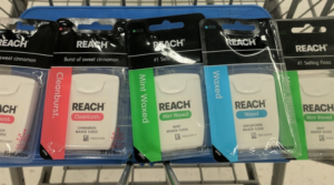 Reach Floss Only $0.24 at Walmart (Free for Some)! Just Use Your Phone!
