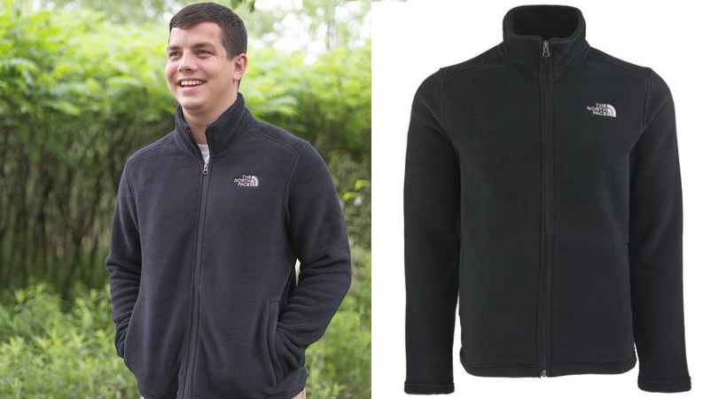 feb66993a The North Face Men's Tundra Full Zip Fleece Jacket Only $50 (Regular ...