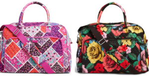 Vera Bradley Weekender Only $34.30 Shipped (Regular $98) – Lots of Patterns!