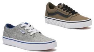 Kohl's Cardholders – Van's Boys' Skate Shoes Only $18.49 (Regular $44.99)