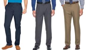 Men's Croft & Barrow Pants Only $7.56 (Regular $54)!