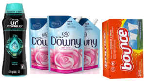 Save on Downy, Bounce, Gain & More with New 25% Off Amazon Coupons!