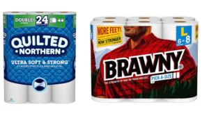 Prime Pantry: Save Big On Quilted Northern & Brawny Products!