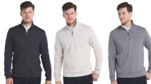 Men's Van Heusen Flex Fleece Quarter-Zip Pullover Only $9.80 Shipped (Regular $70) – Kohl's Cardholders!