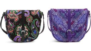Vera Bradley Slim Saddle Bag Only $8.40 Shipped (Regular $58)!