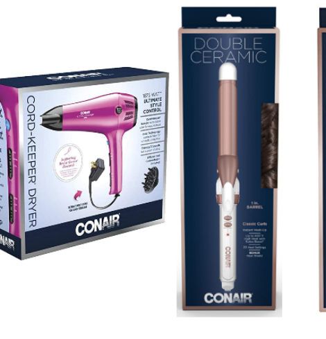 Save Big on Conair Hair Tools!