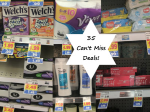 Over 40 Can't Miss Deals at the Kroger Buy 5 Save $5 Mega Sale 8/15 – 8/21