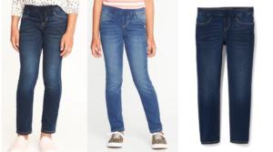 Old Navy Pull-On Skinny Jeggings for Girls Only $8 Shipped (Regular $19.99)!