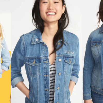 Old Navy Jean Jackets Only $15 Including Plus Sizes Today Only (Regular up to $42.99) – Girls Sizes Only $12!