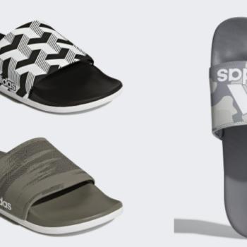 5986c1b84cb1 Men s adidas Adilette Cloudfoam Plus Graphic Slides Only  15 Shipped  (Regular  35)!