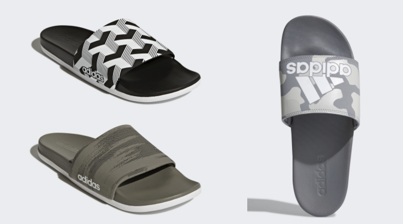 c6dd965f7bfc Men s adidas Adilette Cloudfoam Plus Graphic Slides Only  15 Shipped  (Regular  35)!