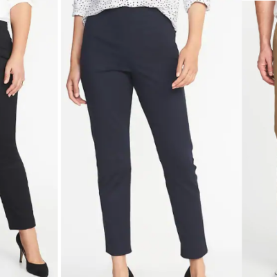 Old Navy Pants for Men and Women Only $12 – Kids Only $10 (Regular up to $34.99) – Today Only!