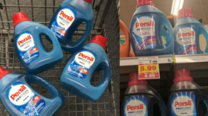 Persil Laundry Detergent 50 oz. Bottles Only $2.99 at Kroger (Regular $7.99)