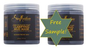 Free Sample of Shea Moisture African Black Soap Mud Mask!