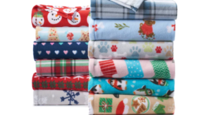 St. Nicholas Square Print Fleece Throws Only $3.49 Shipped (Regular $9.99) – Kohl's Cardholders!