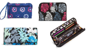 Vera Bradley Wallets & Wristlets Starting at $7.35 Shipped (Regular $34+)!