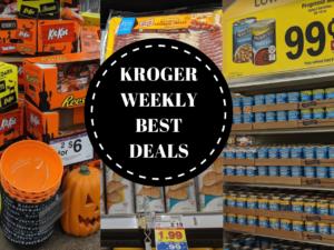 Over 30 Can't Miss Deals at the Kroger Buy 5 Save $5 Mega Sale 10/17 – 10/23