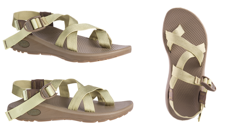 8c3dcbfea144 Women s Chaco Z Cloud 2 Metallic Gold Sandals Only  52.50 Shipped (Regular   110)!