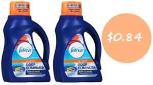 Febreze In-Wash Odor Eliminator Only $0.84 at Walmart (Regular $8.84)!