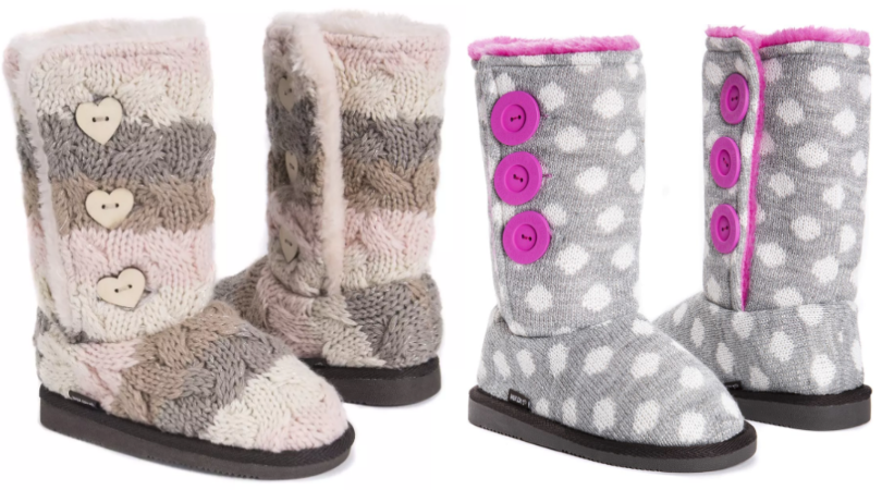 638df6295a6a Muk Luks Girl s Malena Boots Only  24.99 Shipped (Regular  44)!