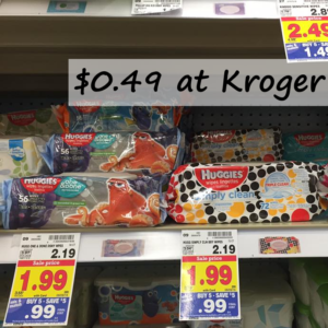 $0.49 Huggies Baby Wipes at Kroger – Print Your Coupons Now!