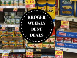 Over 20 Can't Miss Deals at the Kroger Buy 10 Save $5 Mega Sale 11/7 – 11/13