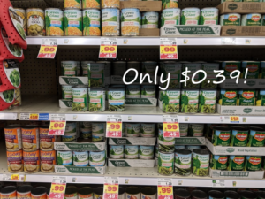 Green Giant Canned Vegetables Only $0.39 at Kroger with Digital Coupon!