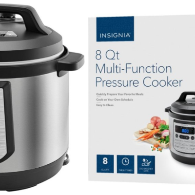 Insignia 8-Quart Multi-Function Pressure Cooker Only $39.99 Shipped (Regular $119.99)!