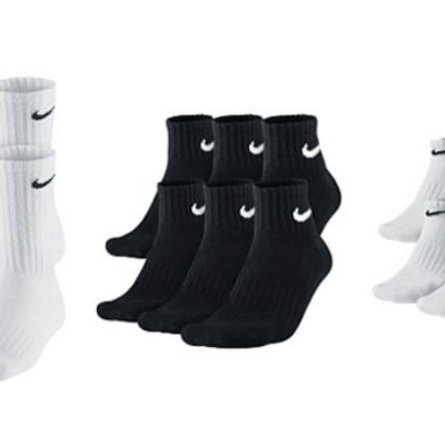 Men's Nike and adidas 6 Pack Socks Only $9.99 (Regular $20)!