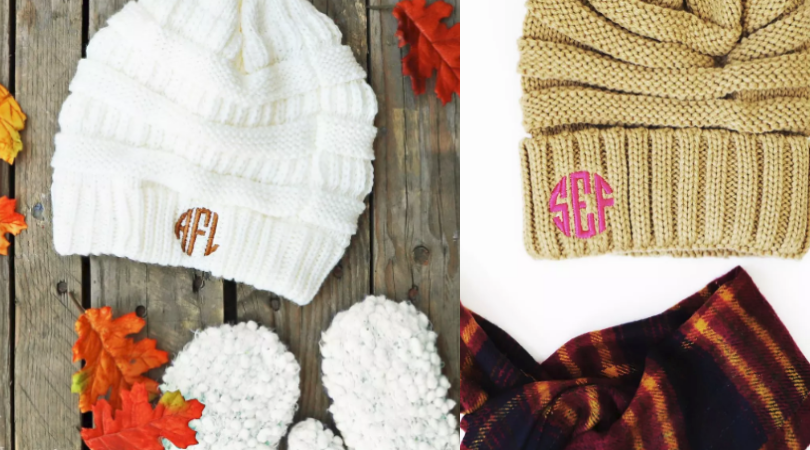 Monogrammed Beanies Only  12 Shipped (Regular  26.99)! ad0eccae5b5