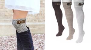 Muk Luks 3 Pair Buckle Cuff Knee Sock Only $16.99 Shipped (Regular $34)!