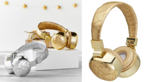 Pottery Barn Teen Quilted Metallic Bluetooth Headphones Only $29.99 Shipped (Regular $79)!